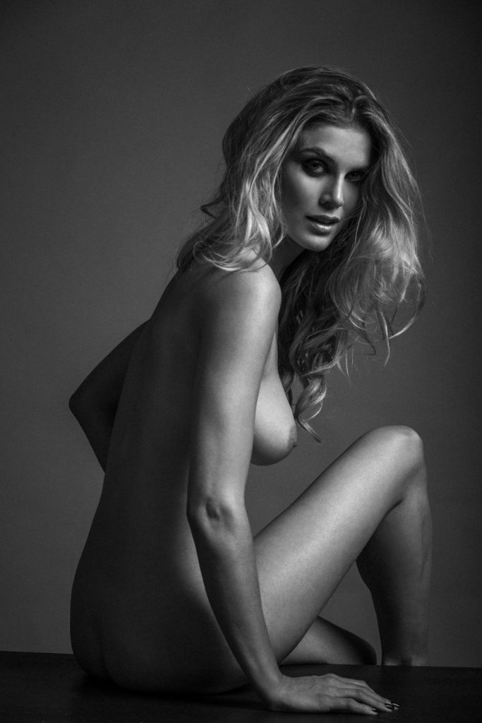 Ashley James photographed in London by Richard Stow